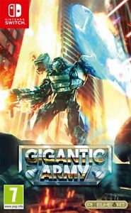 Gigantic-Army-Limited-Edition-pour-Nintendo-Switch-neuf-sous-blister