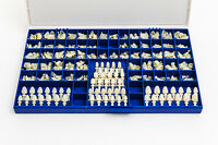 Polycarbonate Temporary Dental Crowns Box Kit 360 Pcs W/ Crown Mold Guides