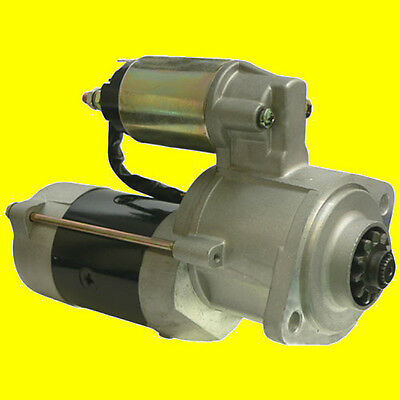 NEW Starter for Case Trencher DH4B Maxi-Sneaker 86-93 Mitsubishi Diesel Engine