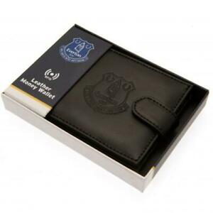 Everton Leather rfid Anti Fraud Wallet (Official Club Merchandise)