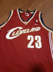 e8e36efec1a Image is loading LEBRON-JAMES-23-Nike-Cleveland-Cavaliers-Rookie-Swingman-
