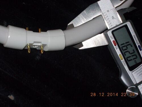 40 Watt Glas-Ø 1,6cm runde Leuchte NeonRöhre Lampe Ring Kreis 30 cm WarmWeiß 830