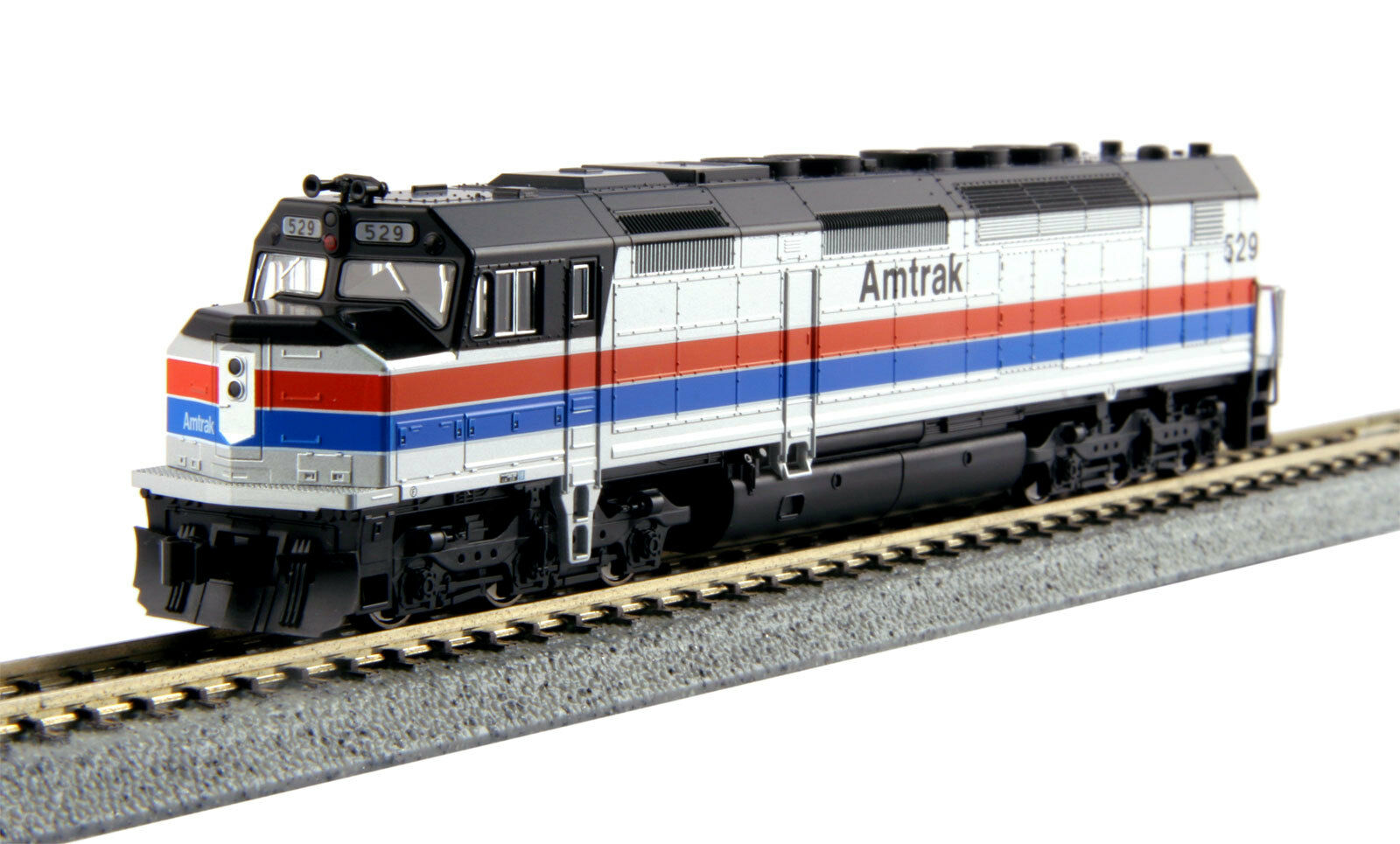 Kato 176-9203 SDP40F AMTRAK PH2  529 .. DC or DCC