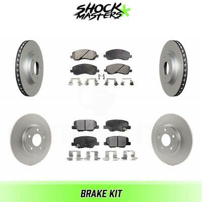 2013 Fits Mitsubishi RVR GT Front Ceramic Brake Pads with Hardware Kits and Two Years Manufacturer Warranty