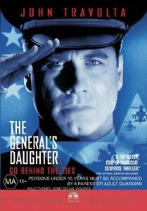 The-General-039-s-Daughter-dvd-region-4-Australia-like-new-condition-free-postage-Au