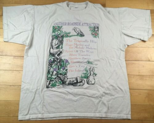 1995 The TRAGICALLY HIP Vintage SHIRT Another ROAD