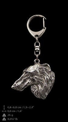 Dog Crystal Keyring Setter Exceptional Gift Keychain
