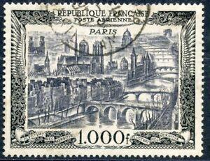 Promotion / Timbre France Oblitere Poste Aerienne N° 29 Vue De Paris Cote 30 €