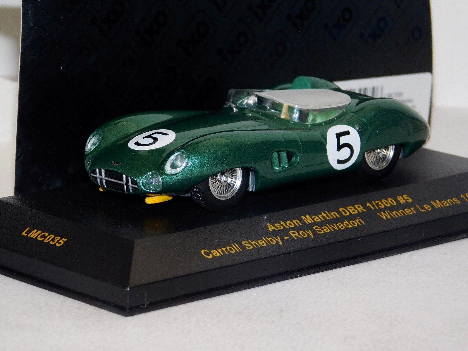 Aston Martin    5 C. Shelby R. profesionales le Mans 1959 IXO Lim. 1 300 LMC035 1 43 d91cb5
