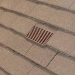 Manthorpe Gtvptv Roof Tile Vent For Concrete Amp Clay Plain