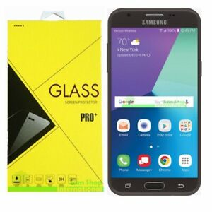 Details about Premium Tempered Glass Screen Protector For Samsung Galaxy J3  Eclipse Verizon
