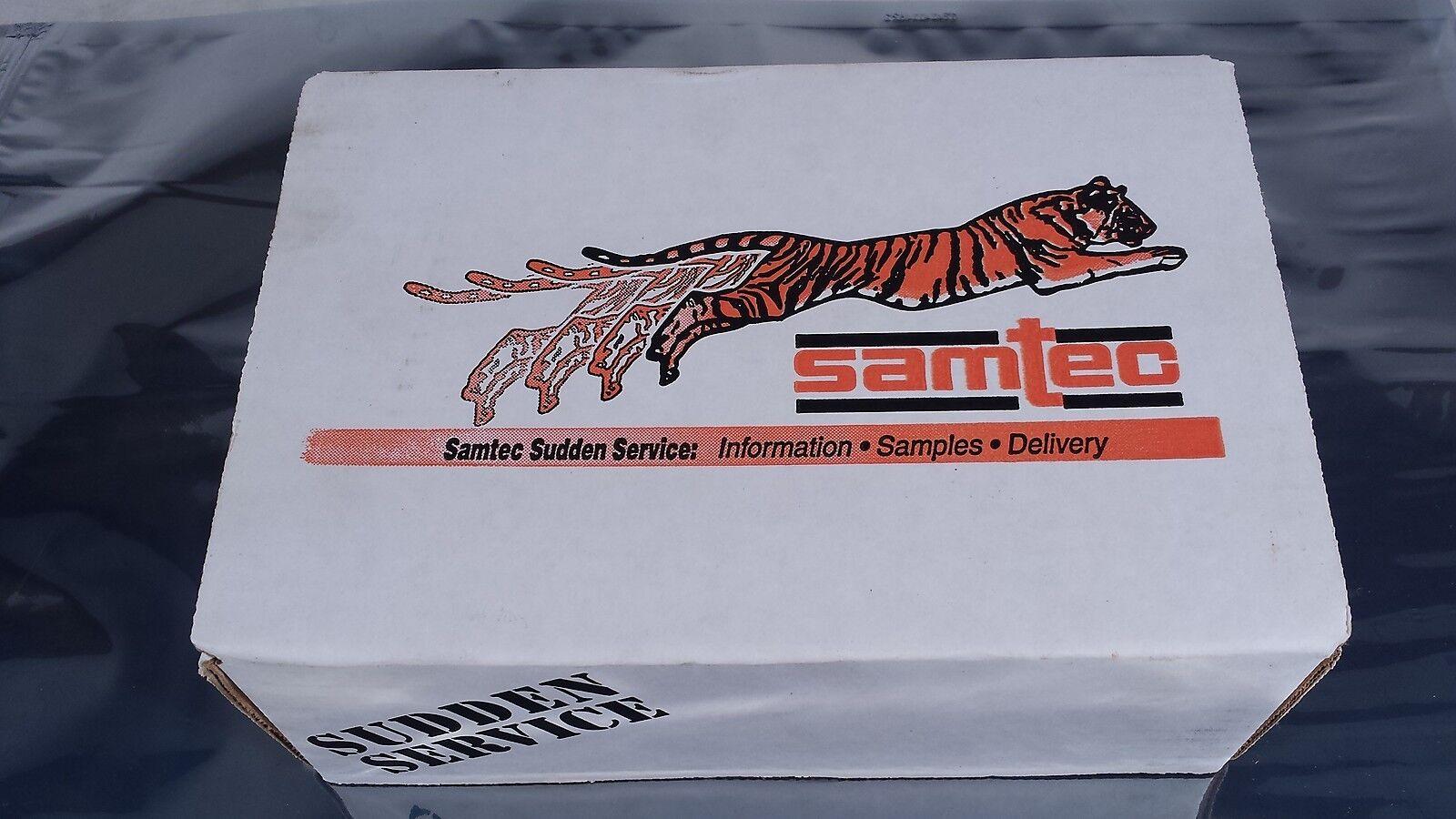 """Lot of 2 TSM-107-01-T-DH-A Samtec SMT .025/"""" Sq Post Header 14 Pos 2.54mm .100/"""""""