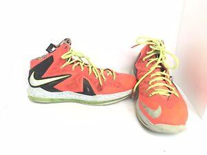 3de342fbdf3 Nike LeBron James X P.S. Elite - Bright Crimson - Size 15 - 579827 ...