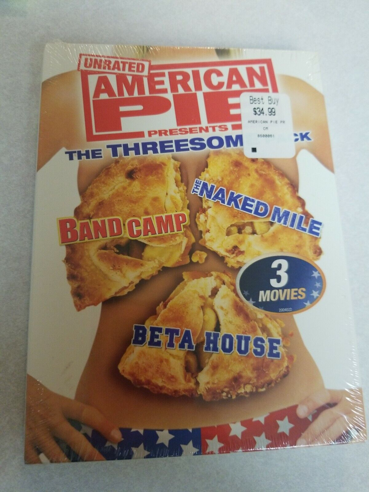 American Pie 6 Presents Beta House 2007 american pie presents: the threesome pack (dvd, 2007, 3-disc set, franchise  collection)