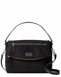 578c12ae88f6 Kate Spade Blake Avenue Black Nylon Lyndon Shoulder Crossbody Bag Wkru4215.  +.  99.00Brand New
