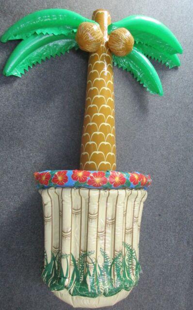 Aufblasbare Palme mit  Mini Pool - Beach/Garten Party Deko - Getränkekühler -NEU
