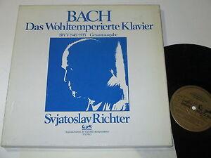 6-LP-BOX-BACH-DAS-WOHLTEMPERIERTE-KLAVIER-GESAMTAUSGABE-RICHTER-Eurodisc-25176
