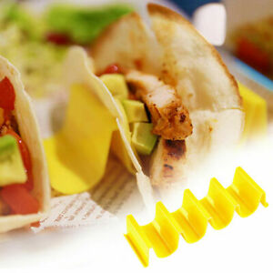 Taco Holder Mexican Food Wave Shape Hard Rack Stand Kitchen Cooking Useful Tool