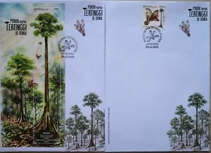 Malaysia FDC with MS & Stamps (29.12.2020) - World's Tallest Tropical Tree