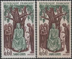 Francia-Francobollo-N-1539-034-Louis-Ix-San-Louis-Varieta-di-Carta-034-Nuovi-Xx-Ttb