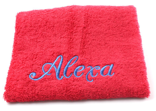 EMBROIDERED PERSONALISED TOWEL SETS  Gift Wraped Sets ANY NAME Egyptian Cotton