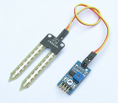1Pcs Soil Hygrometer Detection Moisture Sensor Module Tool for Arduino + Probe