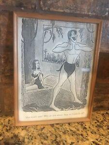 Detalles De Tarzán Jane Comic Dibujos Animados Large Print Lindquist Gracioso Sexual Años 50 Años 60 Ver Título Original