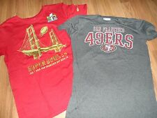 2 mens  t-shirts  ~ small ~ Super Bowl 50 SF 49ers  Kaepernick