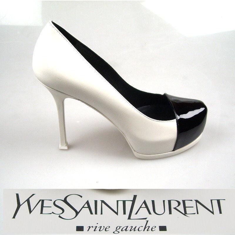 YvesSaitLaurent DAMEN BUSINESS SCHUHE damen DECOLTE NEW PUMPS NEW DECOLTE ORIGINALGR. 36,5 3de3c0