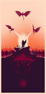 Game-of-Thrones-Screen-Print-Poster-by-Mondo-Artist-Marko-Manev-No-75
