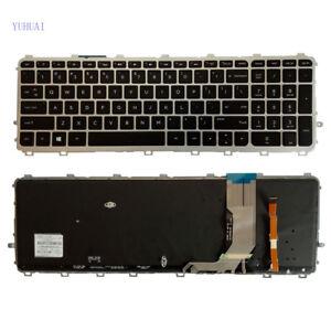 New for HP ENVY Touchsmart M6-N M6-N000 M6-N010DX M6-N012DX US backlit Keyboard