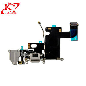 New-OEM-Charger-Charging-Port-Dock-Mic-Flex-Cable-Replacement-For-iPhone-6-Black
