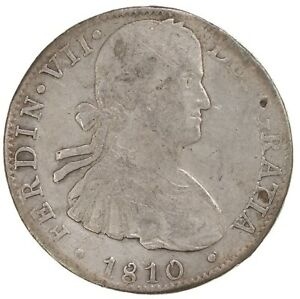 Raw-1810-Mexico-8R-Uncertified-Ungraded-Mexican-Silver-Coin