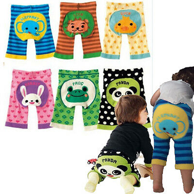 Japanese Baby Boy/Girl Toddler Pants Kawaii Animal Infant Striped Leggings 6M-3T