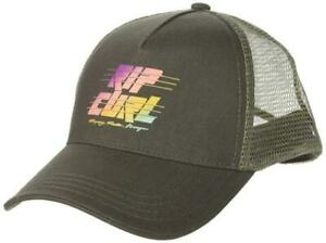 New-Rip-Curl-Junior-039-s-Pacific-Coast-Trucker-Hat-Cap-Charcoal-Mesh-One-Size