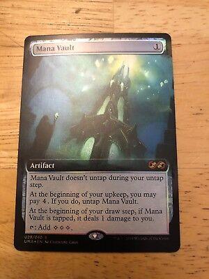 Spoils of the Vault FOIL Ultimate Masters R NM//M MTG Magic -