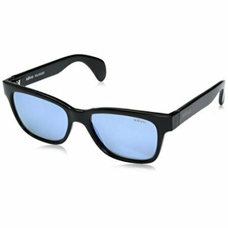34fa2dc4a0 REVO Trystan Re5012 01 BL Polished Black W blue Water Polarized 54mm Lens  for sale online