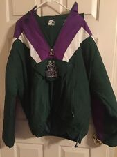 Vintage 1990's Milwaukee Bucks Starter Winter Pullover Jacket Mens Extra Large