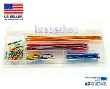 140pcs U Shape Shield Solderless Breadboard Jumper Cable Wire Kit Arduino Shield