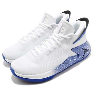 8d4b89877819e Nike Jordan Fly Lockdown PFX White Hyper Royal Men Basketball Shoes ...