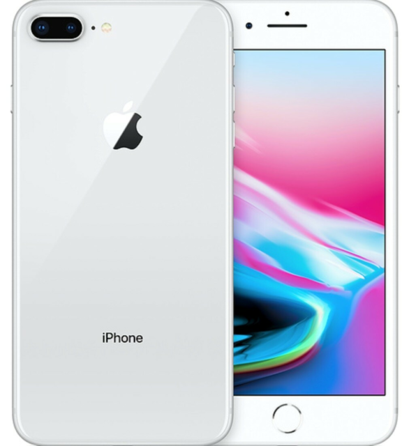 iPhone 8 Plus, 64 GB, aluminium, God, Sælger min Iphone…