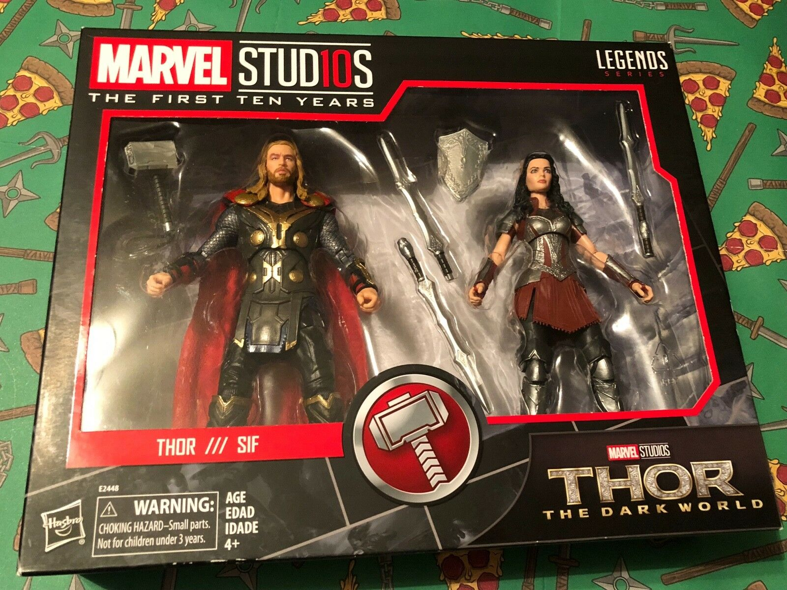 Hasbro Marvel Studios Legends Thor Dark World  Thor & Sif  2 Figure Set NEW