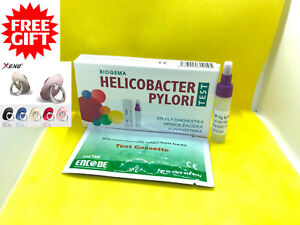 Details About Helicobacter H Pylori Test Kit Stomach Ulcer Duodenum Home Test Result In 10min