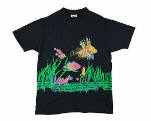Vintage fishy panama jack shirt