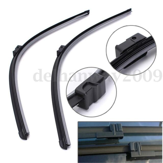 2x Windscreen Flat Wiper Blades Replace For CITROEN C4 Picasso/C4 Picasso 06-08