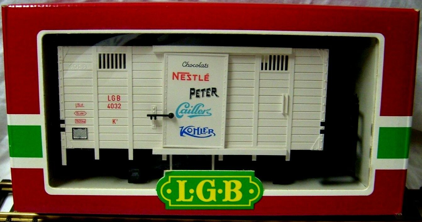 LGB 4032 NESTLE PETER CAILLERS CHOCOLATE BOX CAR