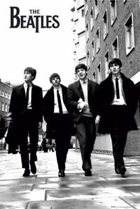 THE-BEATLES-WALKING-IN-LONDON-POSTER-size-24x36