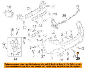 1 Pcs Left LH Tow Hook Eye Hole Cover Rear Bumper Plug Cap BHN1-50-EL1-BB Fit for Mazda 3 2014-2016