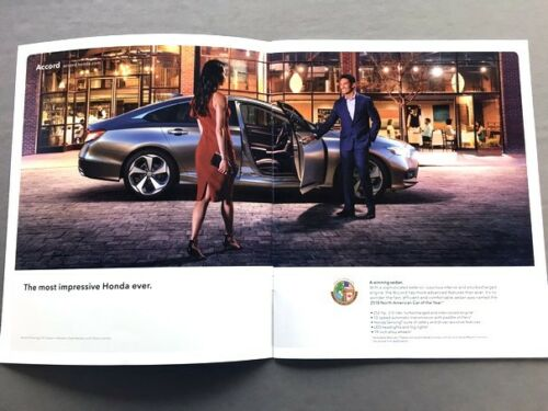 2019 Honda 28-page Original Car Sales Brochure Catalog Accord Civic Type R Fit