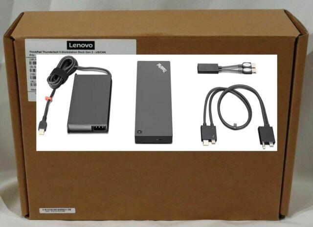 Lenovo 40ANY230US ThinkPad Thunderbolt 3 Dock Docking Station 40AN0230US